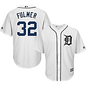 Majestic Men's Replica Detroit Tigers Michael Fulmer #32 Cool Base Home White Jersey