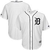 Majestic Men's Replica Detroit Tigers Cool Base Home White Jersey