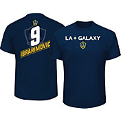 Majestic Men's Los Angeles Galaxy Zlatan Ibrahimovic #9 Navy T-Shirt