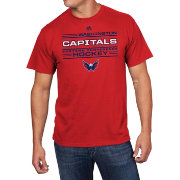 Majestic Men's Washington Capitals Forecheck Red T-Shirt