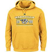 Majestic Men's Nashville Predators Winning Boost Gold Pullover Hoodie