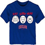 "Majestic Toddler Chicago Cubs ""Eat Sleep Play"" T-Shirt"
