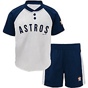 Majestic Toddler Houston Astros Good Hit Shorts & Top Set