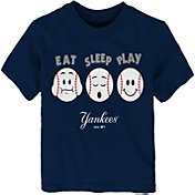 "Majestic Toddler New York Yankees ""Eat Sleep Play"" T-Shirt"