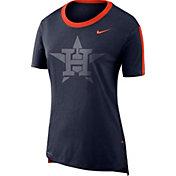 Nike Women's Houston Astros Dri-Blend Hilo Mesh T-Shirt