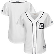 Majestic Women's Replica Detroit Tigers Cool Base Home White Jersey