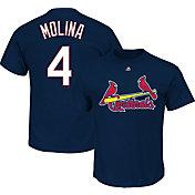 Majestic Youth St. Louis Cardinals Yadier Molina Navy T-Shirt