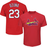 Majestic Youth St. Louis Cardinals Marcell Ozuna #23 Red T-Shirt