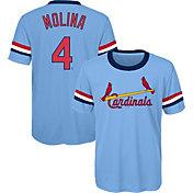 Majestic Youth St. Louis Cardinals Yadier Molina T-Shirt