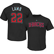 Majestic Youth Arizona Diamondbacks Jake Lamb Black T-Shirt