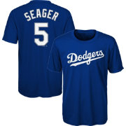 Majestic Youth Los Angeles Dodgers Corey Seager #5 Performance T-Shirt