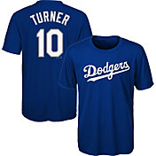 Majestic Youth Los Angeles Dodgers Justin Turner #10 Performance T-Shirt