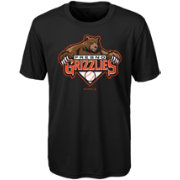Majestic Youth Fresno Grizzlies Black T-Shirt