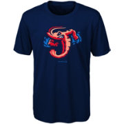 Majestic Youth Jacksonville Jumbo Shrimp Navy T-Shirt
