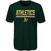 Majestic Youth Oakland Athletics Dri-Tek Wild Card T-Shirt