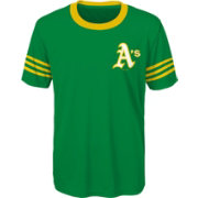 Majestic Youth Oakland Athletics Green Performance T-Shirt