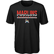 Majestic Youth Miami Marlins Dri-Tek Wild Card T-Shirt