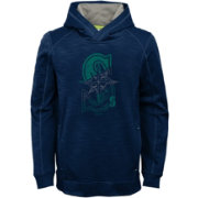 Majestic Youth Seattle Mariners Battle Pullover Hoodie
