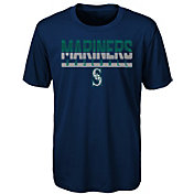 Majestic Youth Seattle Mariners Dri-Tek Wild Card T-Shirt