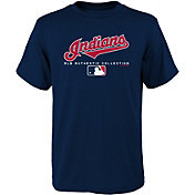 Majestic Youth Cleveland Indians Authentic Collection T-Shirt