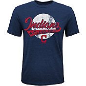 Majestic Youth Cleveland Indians Flagship Tri-Blend T-Shirt