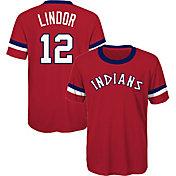 Majestic Youth Cleveland Indians Francisco Lindor T-Shirt