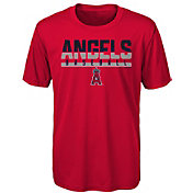 Majestic Youth Los Angeles Angels Dri-Tek Wild Card T-Shirt