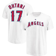 Majestic Youth Los Angeles Angels Shohei Ohtani #17 Performance T-Shirt