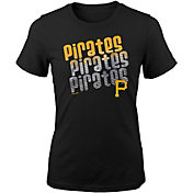 Majestic Youth Girls' Pittsburgh Pirates 3-Peat T-Shirt
