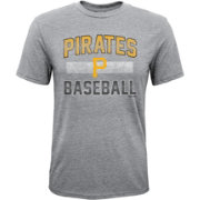 Majestic Youth Pittsburgh Pirates Hall-of-Fame Tri-Blend T-Shirt