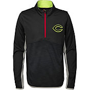 Majestic Youth Cincinnati Reds Excellence Quarter-Zip Fleece