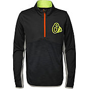 Majestic Youth Baltimore Orioles Excellence Quarter-Zip Fleece
