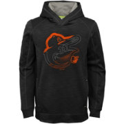 Majestic Youth Baltimore Orioles Battle Pullover Hoodie