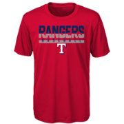 Majestic Youth Texas Rangers Dri-Tek Wild Card T-Shirt