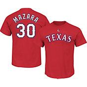 Majestic Youth Texas Rangers Nomar Mazara Red T-Shirt