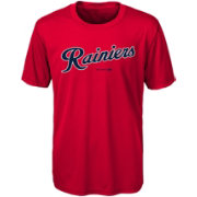 Majestic Youth Tacoma Rainiers Red T-Shirt