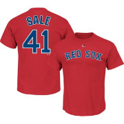 Majestic Youth Boston Red Sox Chris Sale Red T-Shirt