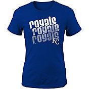 Majestic Youth Girls' Kansas City Royals 3-Peat T-Shirt