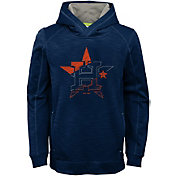 Majestic Youth Houston Astros Battle Pullover Hoodie
