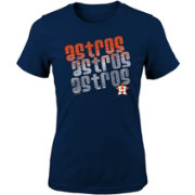 Majestic Youth Girls' Houston Astros 3-Peat T-Shirt