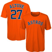 Majestic Youth Houston Astros Jose Altuve #27 Performance T-Shirt