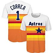 Majestic Youth Houston Astros Carlos Correa T-Shirt