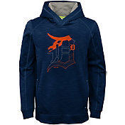 Majestic Youth Detroit Tigers Battle Pullover Hoodie