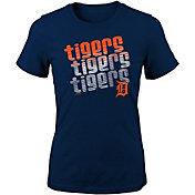 Majestic Youth Girls' Detroit Tigers 3-Peat T-Shirt