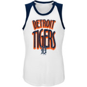 Majestic Youth Girls' Detroit Tigers Ballpark Tank