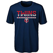 Majestic Youth Minnesota Twins Dri-Tek Wild Card T-Shirt