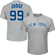 Majestic Youth New York Yankees Aaron Judge Grey T-Shirt