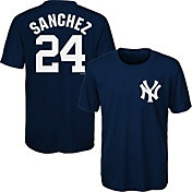 Majestic Youth New York Yankees Gary Sanchez #24 Performance T-Shirt