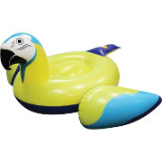 Margaritaville Parrot Head Lounger Pool Float with Bluetooth Speaker