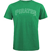 Majestic Threads Men's Pittsburgh Pirates St. Patrick's Day Tri-Blend T-Shirt